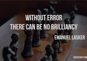 Without error there can be no brilliancy