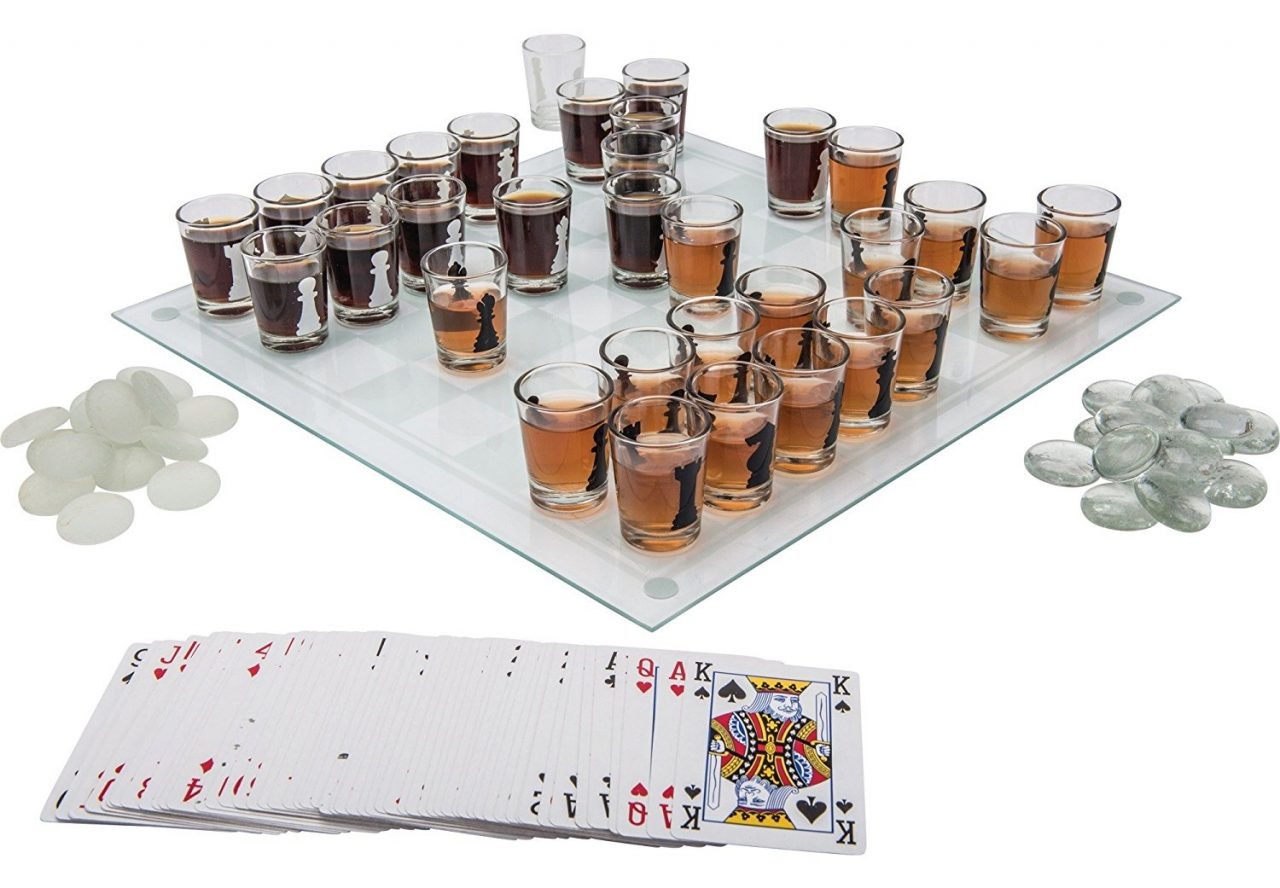 Shot glass chess